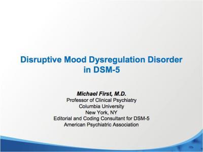 Disruptive Mood Dysregulation Disorder Treatment Disruptive Mood Dysreg...